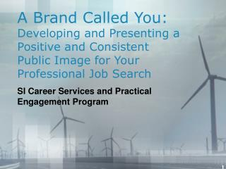 A Brand Called You: Creating and Displaying a Positive and Predictable Open Picture for Your Expert Employment Look