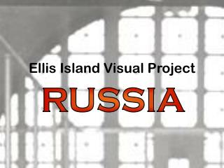 Ellis Island Visual Task