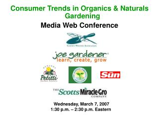 Buyer Patterns in Organics and Naturals Planting Media Web Gathering