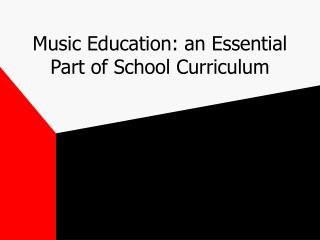 Music Instruction: a Crucial Piece of School Educational programs