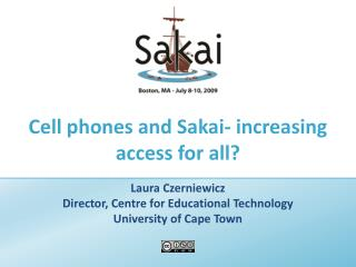 Phones and Sakai-expanding access for all?