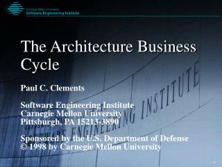 The Engineering Business Cycle