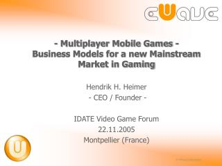 - Multiplayer Portable Amusements - Plans of action for another Standard Business sector in Gaming
