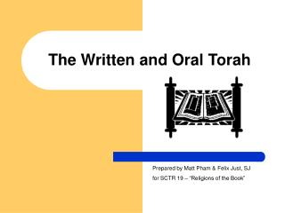The Composed and Oral Torah
