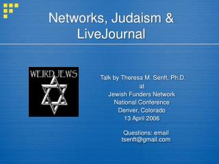 Systems, Judaism and LiveJournal