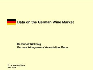Information on the German Wine Market