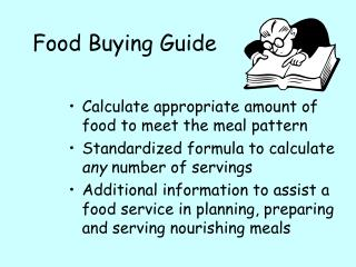 Sustenance Purchasing Guide