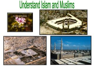 Comprehend Islam and Muslims