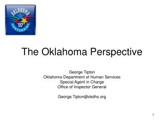 The Oklahoma Point of view
