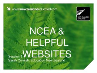 NCEA and Accommodating Sites