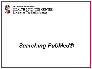 Looking PubMed
