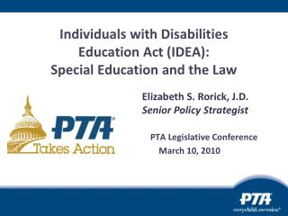 People with Incapacities Instruction Act (Thought): specialized curriculum and the Law