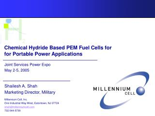 Substance Hydride Based PEM Energy components for Convenient Force Applications