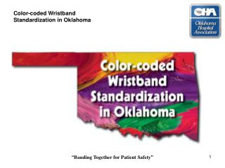 Shading coded Wristband Institutionalization in Oklahoma