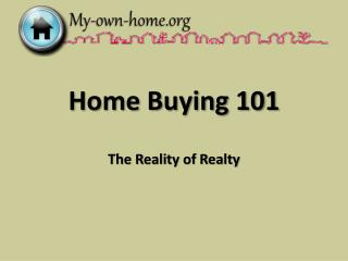 Home Purchasing 101