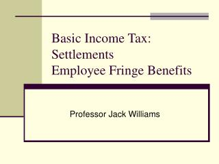 Fundamental Salary Charge: Settlements Worker Incidental advantages
