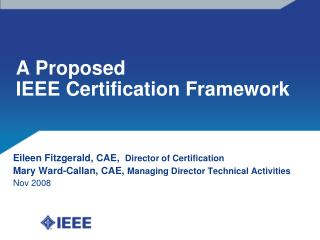 A Proposed IEEE Affirmation System