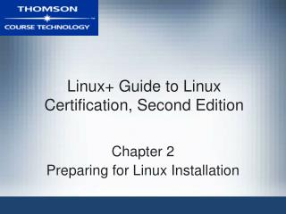 Linux Manual for Linux Confirmation, Second Release