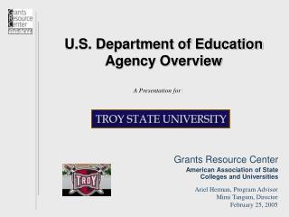 U.S. Bureau of Instruction Organization Diagram