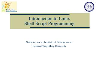 Prologue to Linux Shell Script Programming