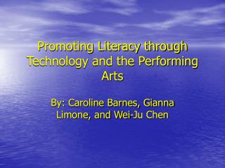 Advancing Proficiency through Innovation and the Performing Expressions