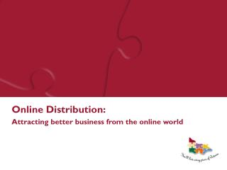Online Dispersion: Pulling in better business from the online world