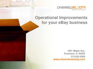 Operational Changes for your eBay business