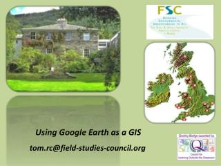 Utilizing Google Earth as a GIS tom.rc@field-concentrates on committee