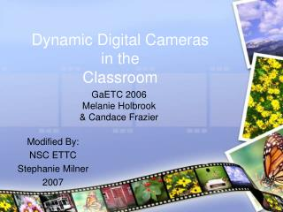 Dynamic Computerized Cameras in the Classroom