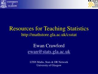 Assets for Showing Measurements mathstore.gla.ac.uk/csstat