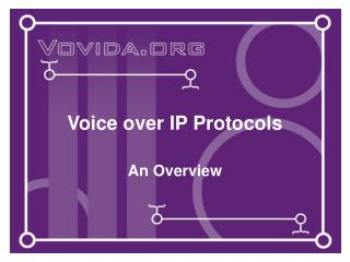 Voice over IP Conventions