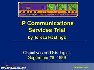 IP Correspondences Administrations Trial by Teresa Hastings