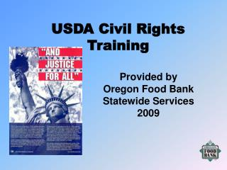 USDA Social equality Preparing