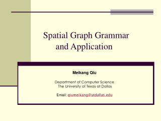 Spatial Diagram Linguistic use and Application
