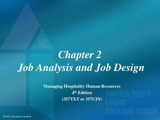 Part 2 Work Examination and Occupation Outline