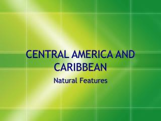 Focal AMERICA AND CARIBBEAN