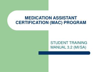 Pharmaceutical Right hand Affirmation (Macintosh) PROGRAM