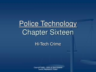 Police Innovation Section Sixteen