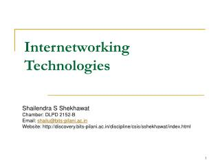 Internetworking Advancements