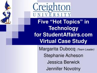 "Five ""Interesting issues"" in Innovation for StudentAffairs Virtual Contextual investigation"