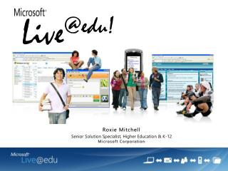 Roxie Mitchell Senior Arrangement Expert, Advanced education and K-12 Microsoft Enterprise