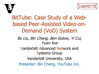 BitTube : Contextual analysis of an Electronic Companion Helped Video-on-Interest ( VoD ) Framework