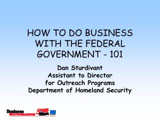 The most effective method to Work WITH THE GOVERNMENT - 101