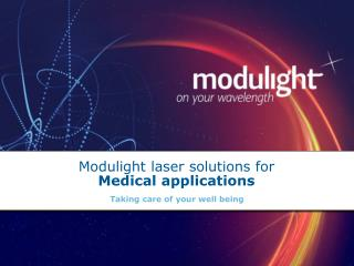 Modulight laser answers for Restorative applications