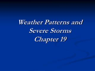 Climate Designs and Extreme Tempests Section 19