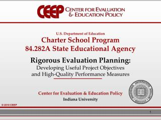 U.S. Division of Instruction Sanction School Program 84.282A State Instructive Office Thorough Assessment Arranging: Cre