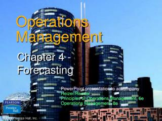 Operations Administration