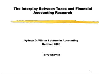 The Interaction In the middle of Duties and Monetary Bookkeeping Research