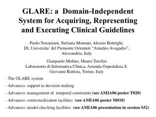 GLARE: a Space Autonomous Framework for Obtaining, Speaking to and Executing Clinical Rules