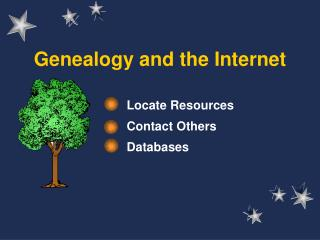 Family history and the Web